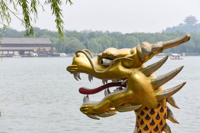 Lac du Parc Beihai de Pékin @neweyes