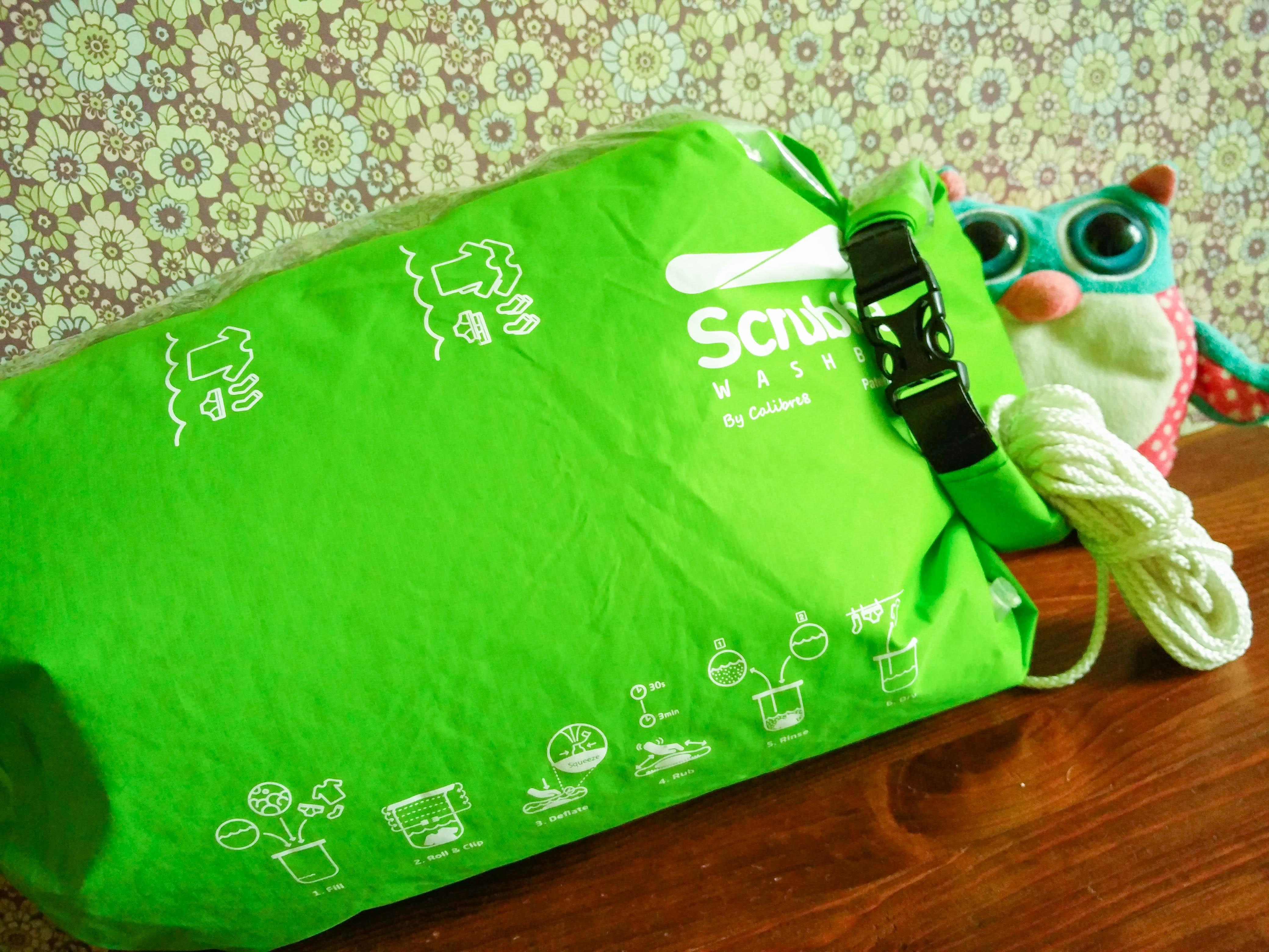Laver son linge en voyage avec le Wash Bag