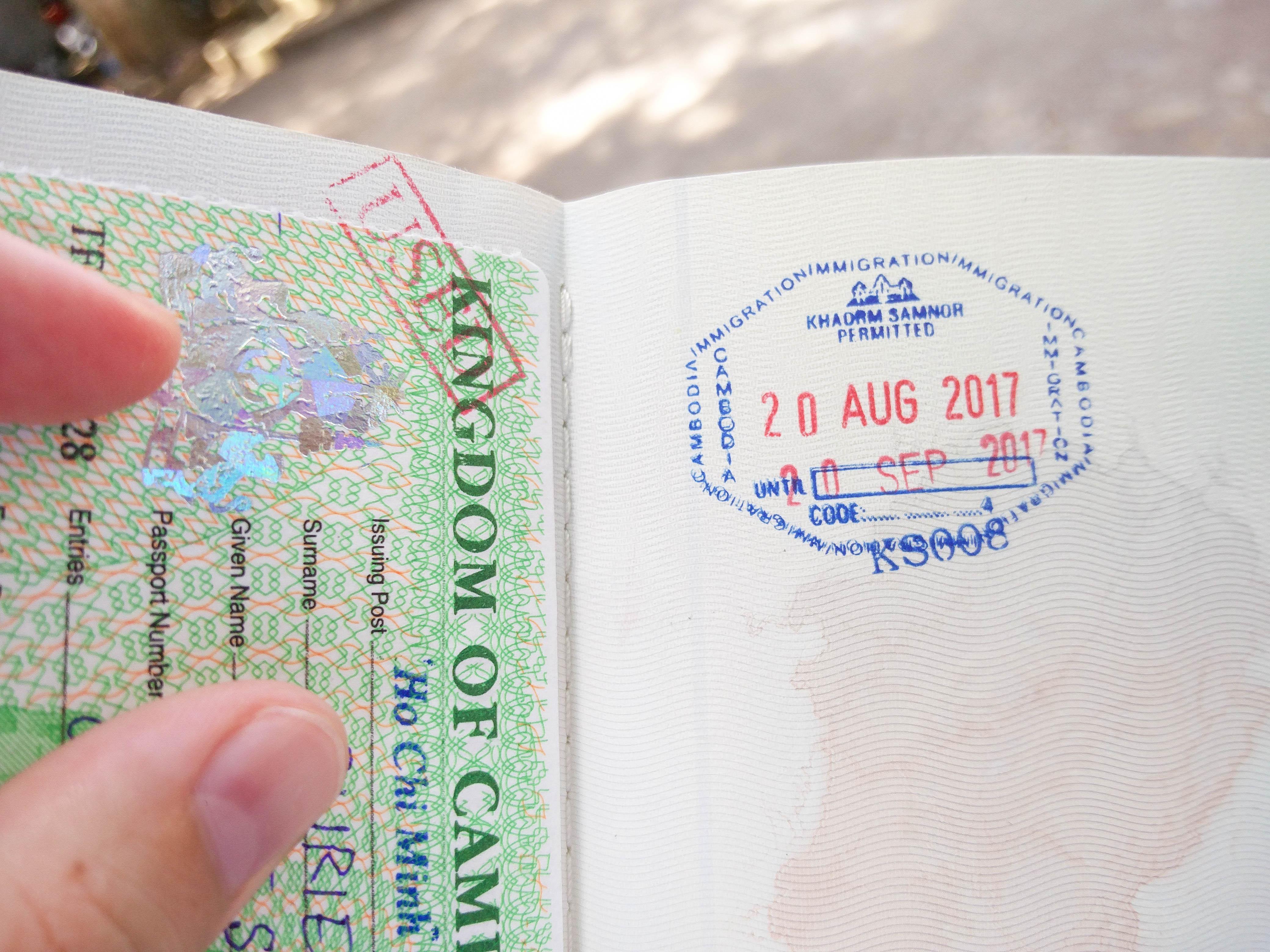 Faire son visa Cambodge à Hô Chi Minh, au Vietnam