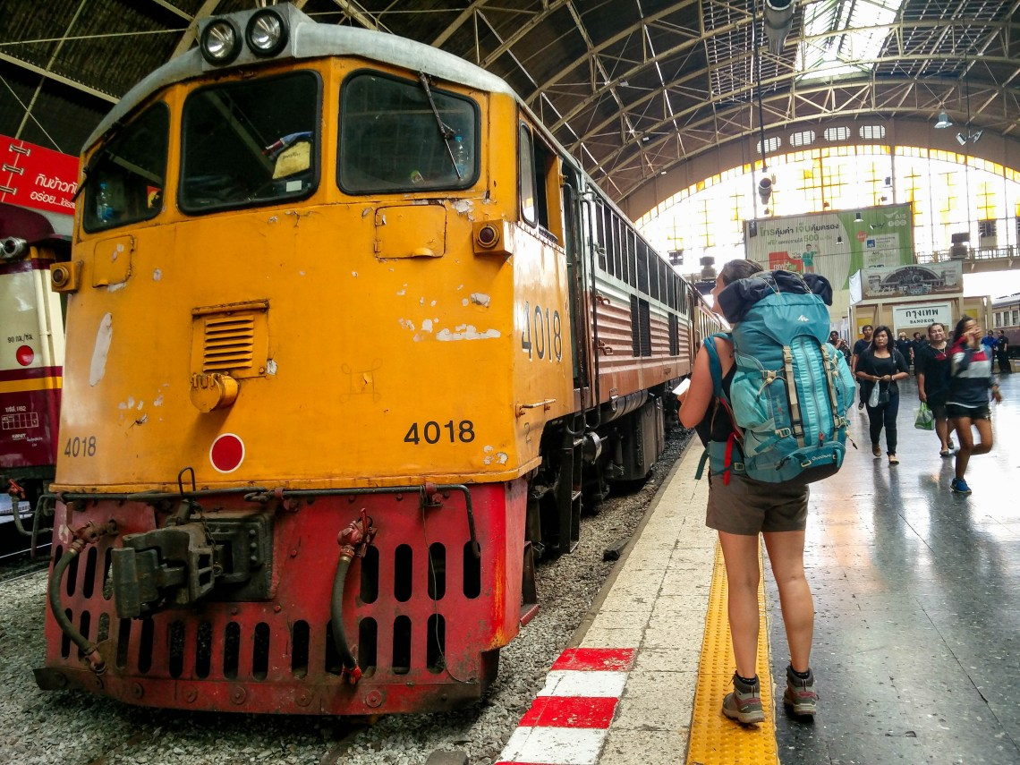 En route vers Khao Yai par le train ! @neweyes