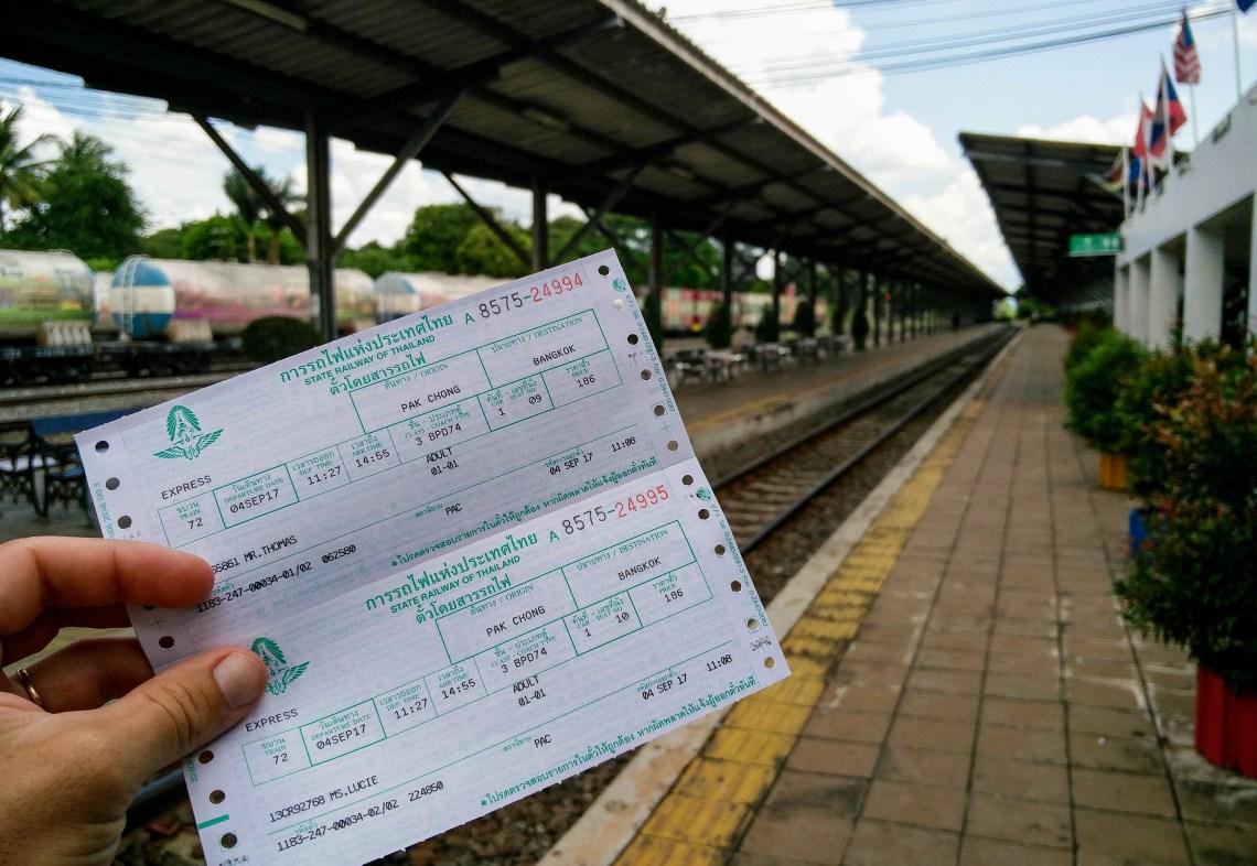 Se rendre en train jusqu'à Pakchong pour aller voir les animaux de Khao Yai @neweyes