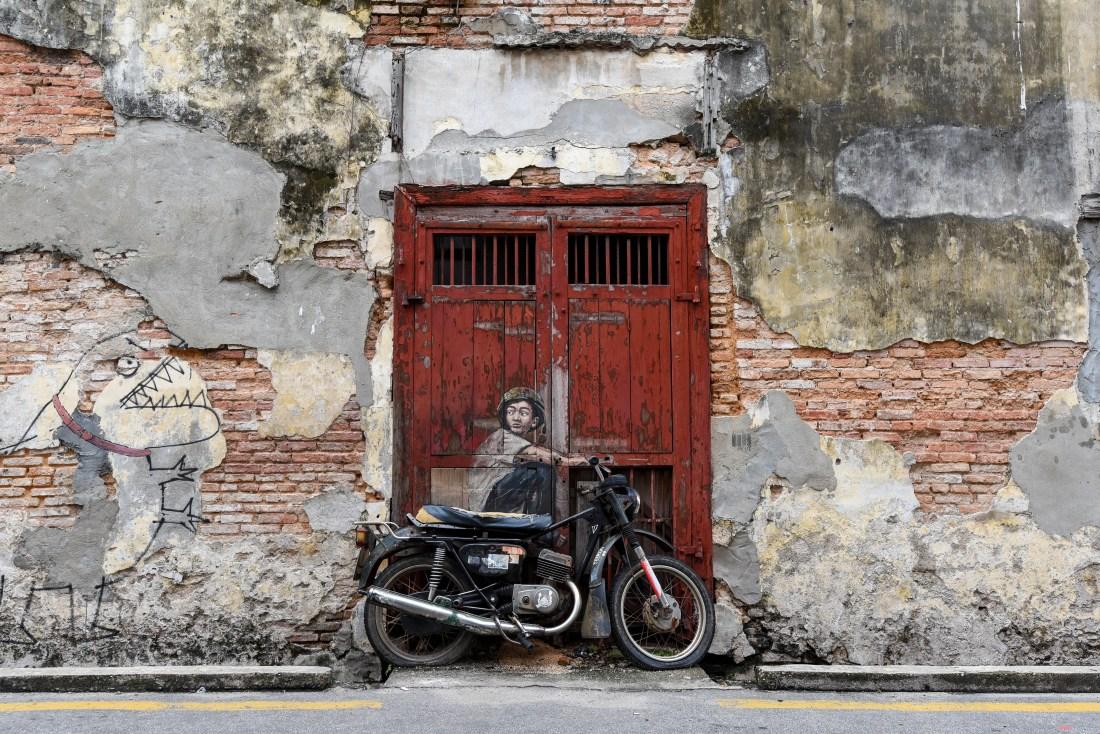 Au coeur de George Town en Malaisie @neweyes