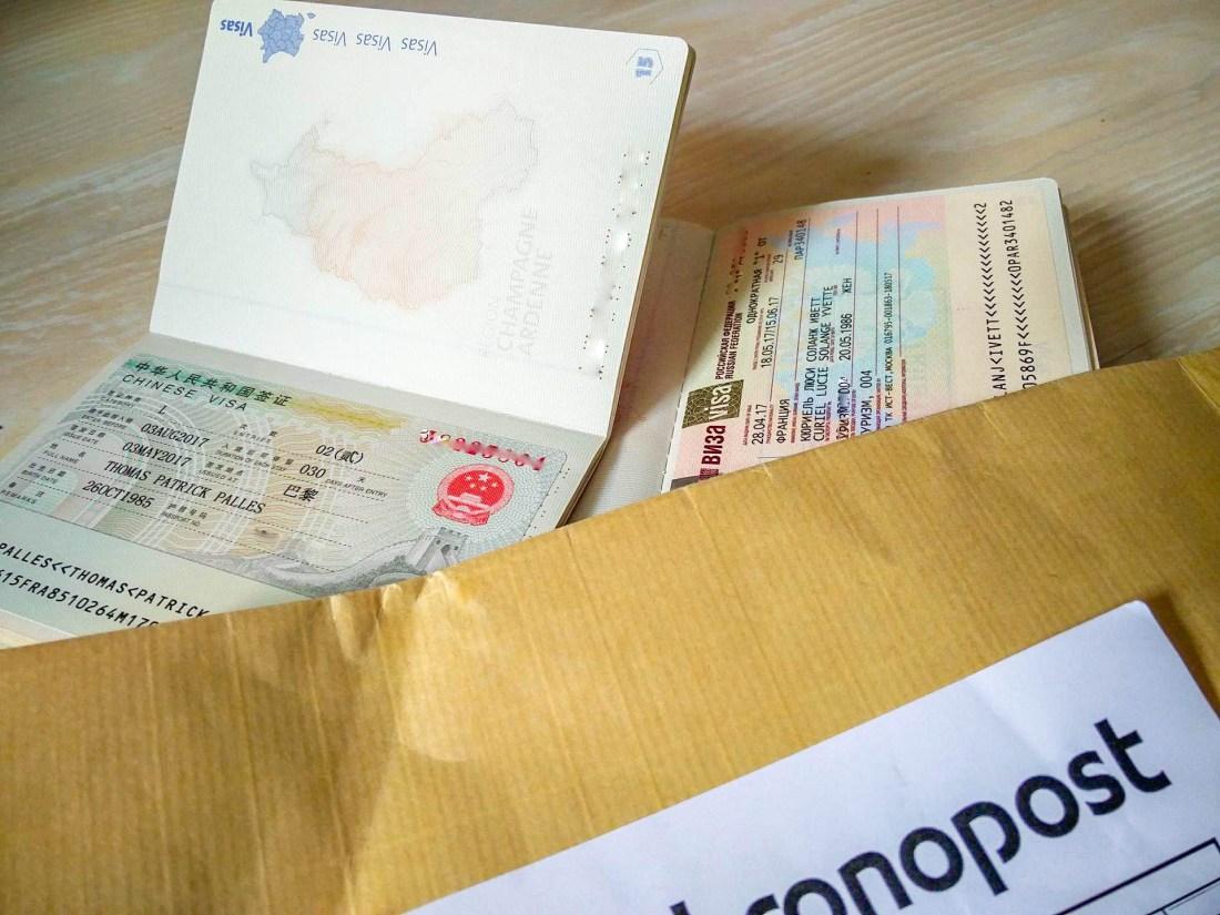 Visa pour la Chine avec Mondial Visas