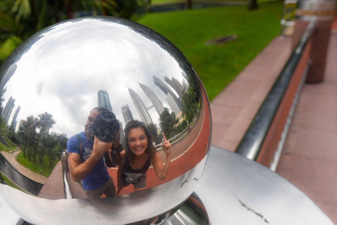 Les tours Petronas de Kuala Lumpur, Malaisie