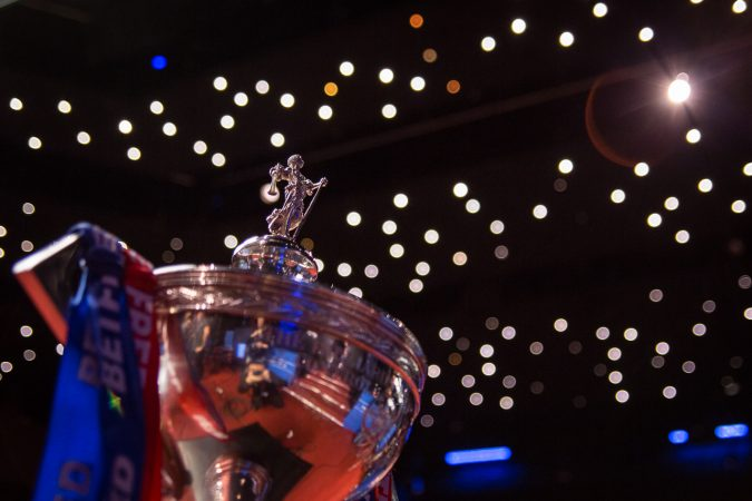 Betfred World Snooker Championship 2018 Qualifiers Draw