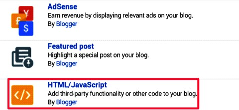newfeatureblog.com html/javascript par click kare