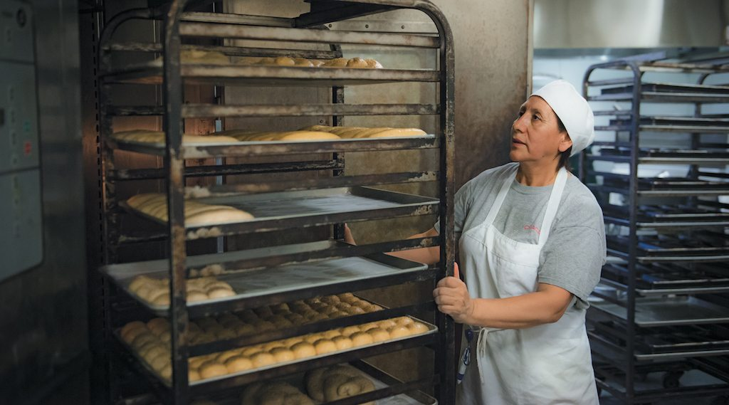 At Hot Bread Kitchen women bake loaves to become