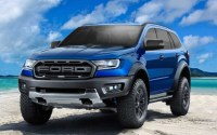 2019 Ford Everest Raptor Exterior