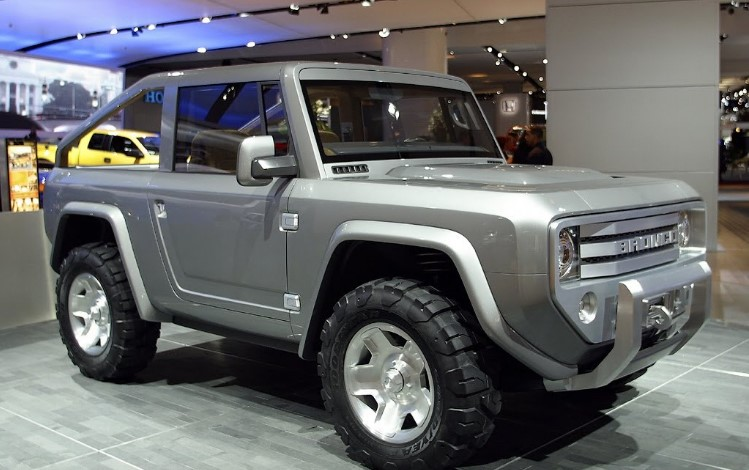 2020 Ford Bronco Convertible Exterior