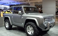 2020 Ford Bronco Removable Top Exterior