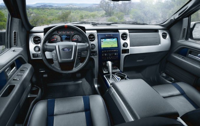 2021 Ford F-150 Raptor Interior