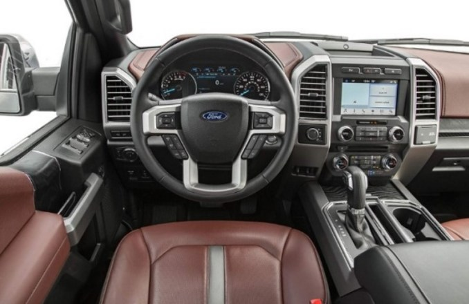 2020 Ford F150 Lightning Interior