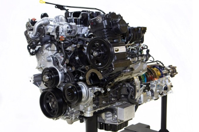 2020 Ford F750 Engine