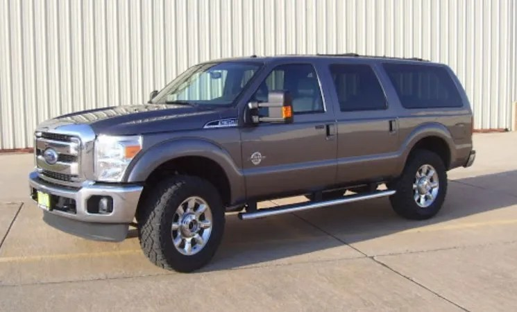 Ford Excursion 2022 Exterior