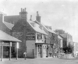 The Crown Hotel, Lyndhurst.