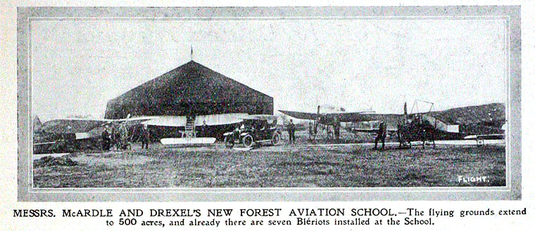 new forest aviation school