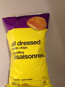 No Name All Dressed chips