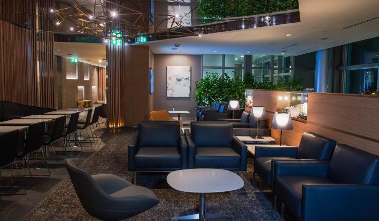 YYT Maple Leaf Lounge