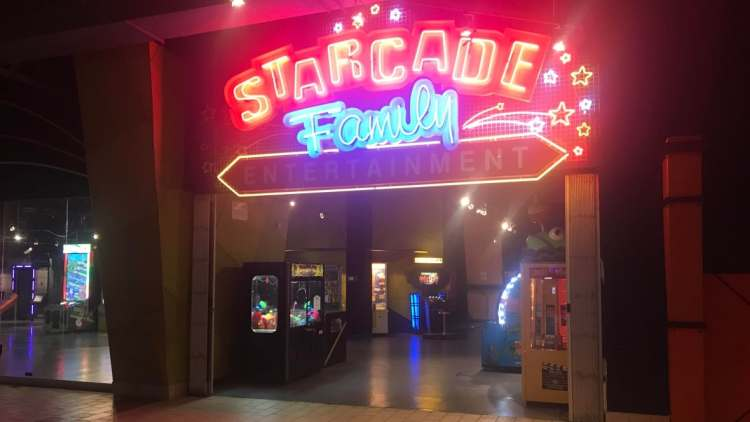 Starcade at the Avalon Mall