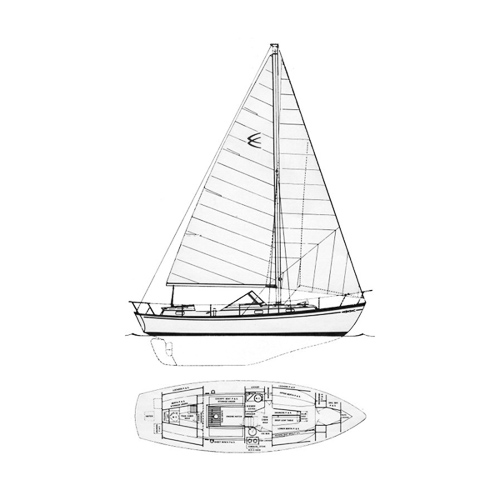 Chris Craft Sail Yacht