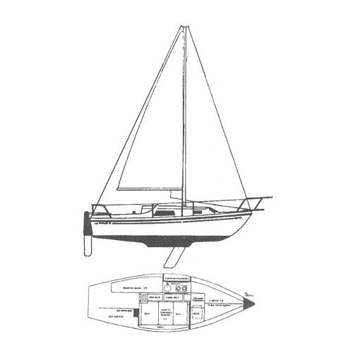 Illustration of a Watkins 23