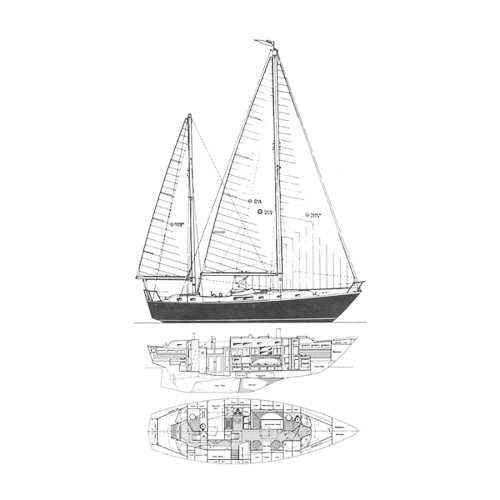Illustration of a Whitby 42