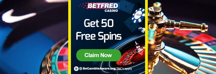 Betfred 50 free spins