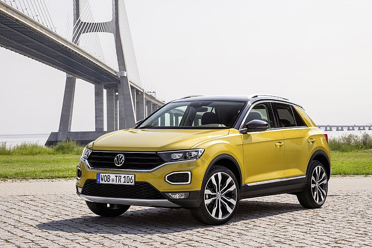 Volkswagen's New SUV T-Roc Launched In India, Priced At 19.99 Lakh Rupees:-