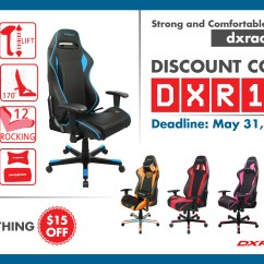 Dxracer Office Chair Canada Gingham Dining Room Covers Use The Discount Code Dxr15 At Ca