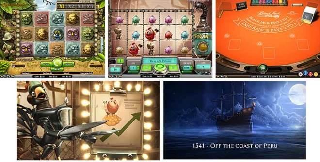 オンラインカジノのスロット機種