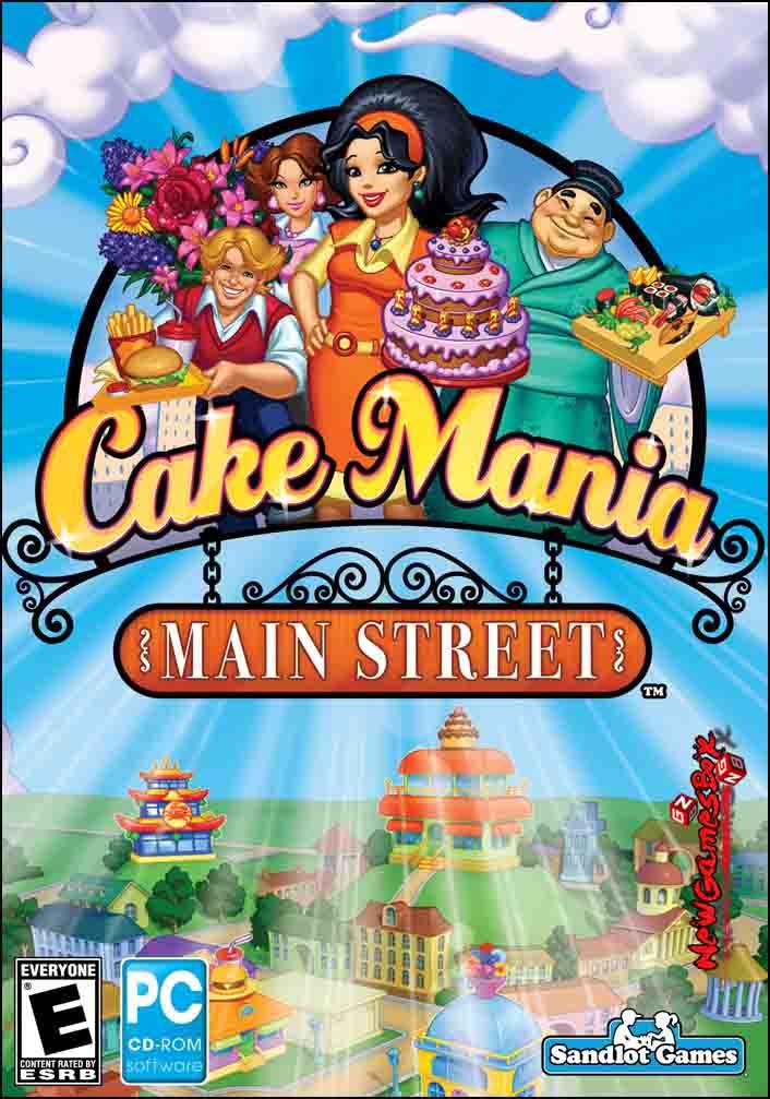 Cake Mania Free : mania, Mania, Street, Download, Version, GreenStarCandy
