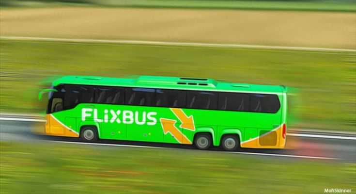 Bus Scania Touring 1.36 Flixbus Poland