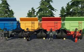 Hilken BM 5000 Trailer for FS19 V1.0