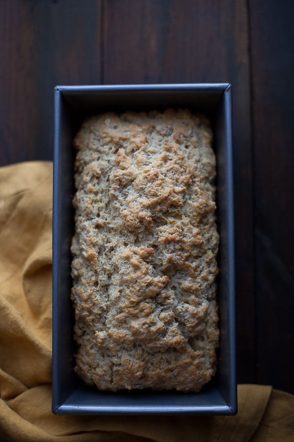 Oatmeal Stout Beer Bread