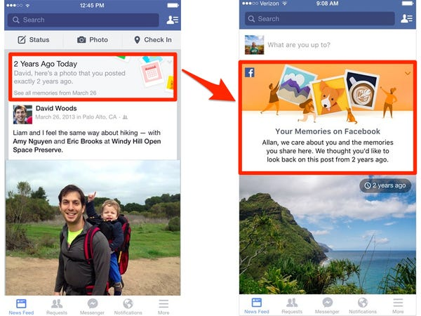 my memories today on Facebook for me | how do I find my memories on Facebook