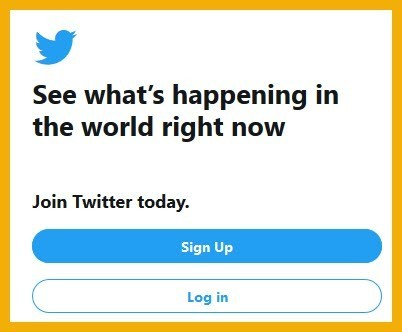 Steps to Setup Twitter Account