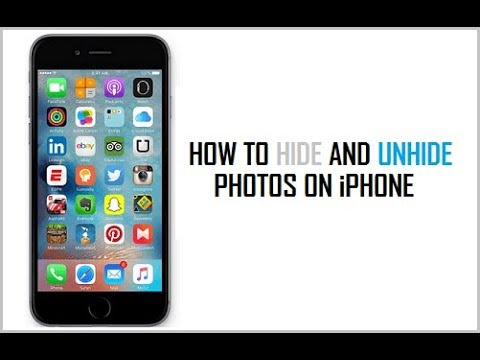 How to Hide Unhide Photos and Videos on iOS