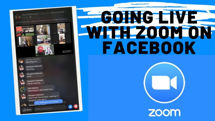 Connect Zoom To Facebook Live
