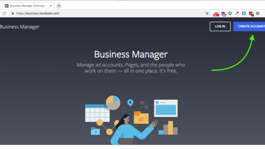 Create Facebook Business Manager Account