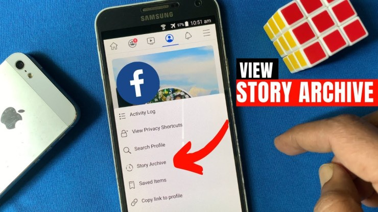 Find Archived Stories On Facebook
