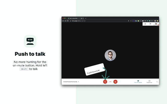 Google Meet Extension