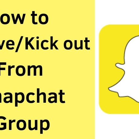 Delete a Snapchat Group You Created