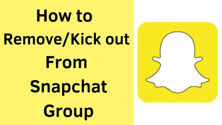 Delete Snapchat Group You Created