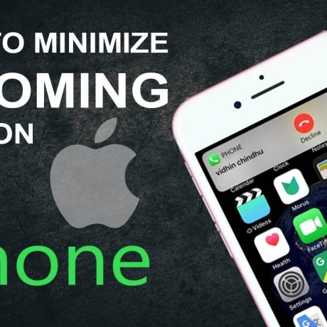 Minimize Incoming Call Screens On iPhone