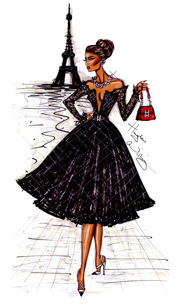 Hayden William Fashion Illustration Newgirllook