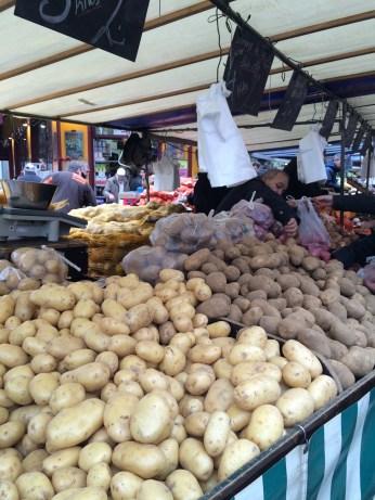 That's a lotta potatoes. Frites, anyone? Or, better yet, latkes?!