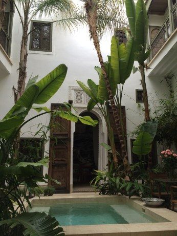 The lush and lovely Riad Jaaneman in Marrakech