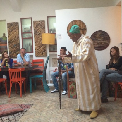 Storytelling at Cafe Clock