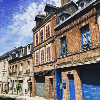 The streets of Honfleur