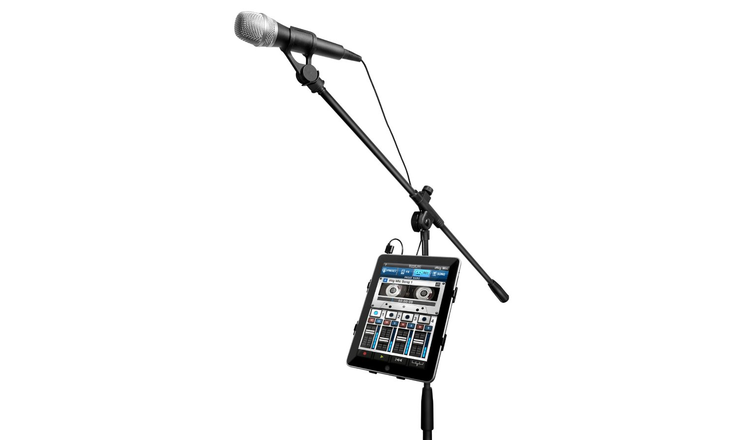 Dynamic Stage Vocal Microphone For Your Ios Devices By Ik
